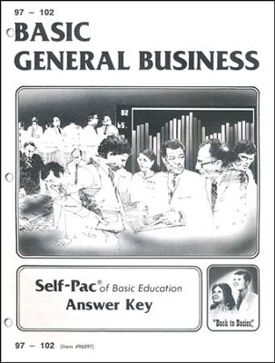General Business Key 97-102  -