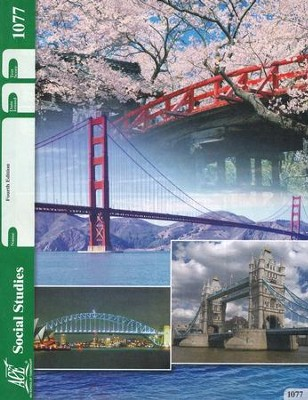 4th Edition Social Studies PACE 1077, Grade 7   -