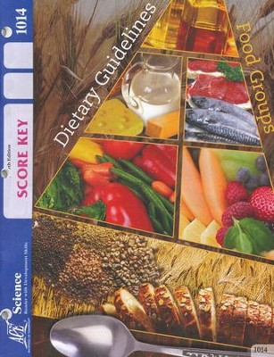4th Edition Science PACE SCORE Key 1014, Grade 2   -