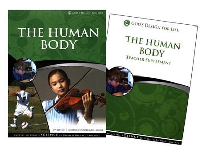 Teacher & Student Pack, The Human Body: God's Design for Life   -     By: Debbie Lawrence, Richard Lawrence