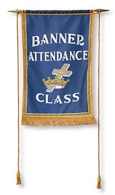 Attendance Banner with Crossbar  -