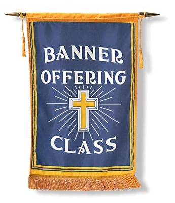 Offering Banner with Crossbar  -