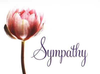 Church Sympathy Card KJV/ Box of 12  -