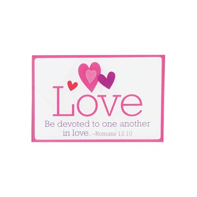 Be Devoted to One Another in Love Magnet  -