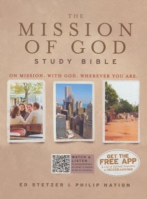 HCSB The Mission of God Study Bible, Hardcover - Slightly Imperfect  -