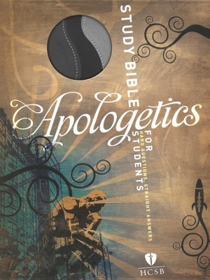 HCSB Apologetics Study Bible for Students, Black and Gray Simulated Leather  -