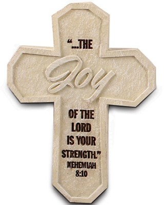Joy Cross Magnet  -