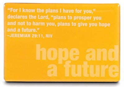 Hope and A Future Magnet  -