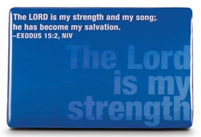 Lord is My Strength Magnet  -