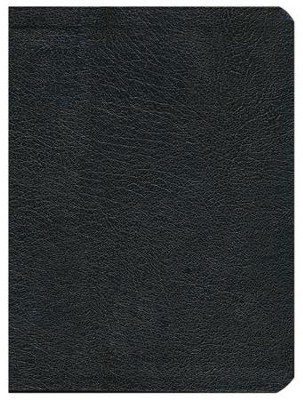 HCSB Apologetics Study Bible, Black Genuine Leather  -