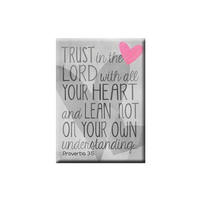 Trust in the Lord Magnet  -