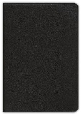 NASB Pitt Minion Reference Bible, Goatskin leather, brown  -