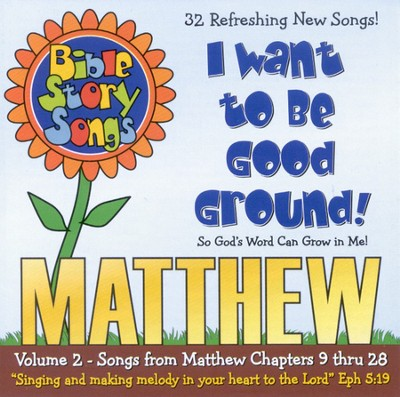 Bible Story Songs: Matthew Volume 2 CD   -     By: Catherine Walker