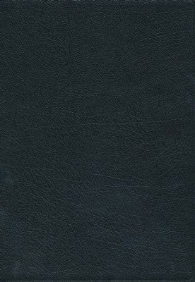 NKJV Super Giant Print Reference Bible, Black Bonded Leather  -