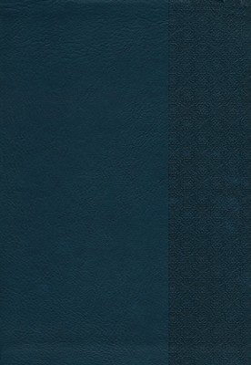 NKJV Super Giant Print Reference Bible, Slate Blue Imitation Leather  -