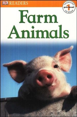 DK Readers Pre-Level 1 (Learning to Read): Farm Animals   -
