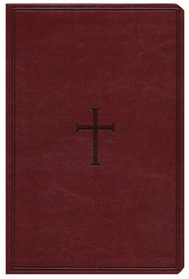 KJV Giant Print Reference Bible, Brown LeatherTouch, Thumb-Indexed  -