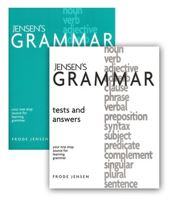 Jensen's Grammar (Textbook, Tests & Answers)   -     By: Frode Jensen
