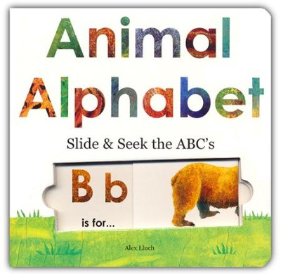 Animal Alphabet: Slide & Seek the ABC's   -     By: Alex Lluch