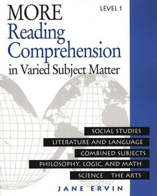 More Reading Comprehension Book Level 1, Grade 9   -     By: Jane Ervin