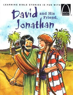 David and His Friend, Jonathan   -