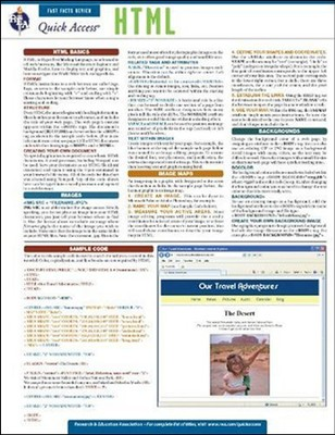 HTML - Quick Access Reference Chart  -     By: REA Editors