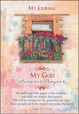 My God Answers Prayers Journal  -