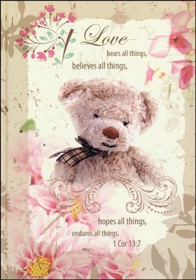 Love Bears All Things Journal  -