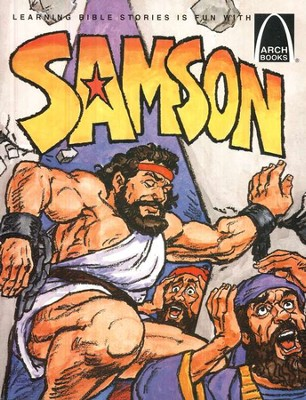 Arch Books Bible Stories: Samson   -