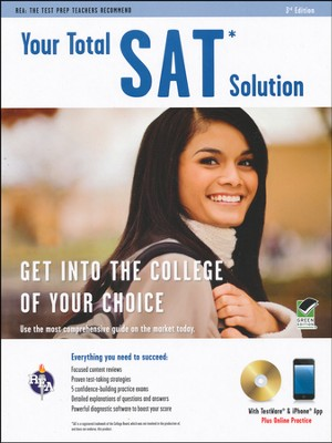 Your Total SAT Solution w/CDROM, 3rd Edition  -     By: Sally Wood