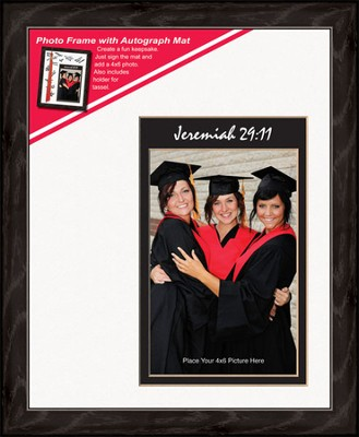 Graduate Photo Frame Jeremiah 29:11 (vertical)   -