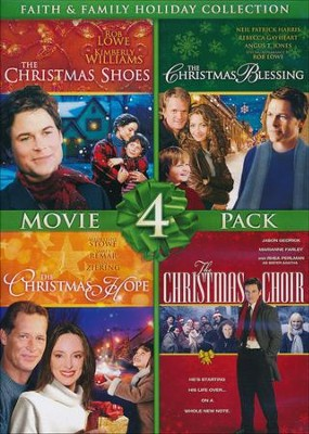Faith & Family Holiday Collection, 4-Movie Pack    -