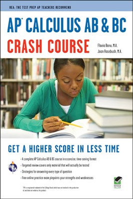 AP Calculus AB & BC Crash Course  -     By: Flavia Banu, Joan Marie Rosebush