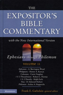 The Expositor's Bible Commentary, Ephesians - Philemon, Volume 11 - Slightly Imperfect  -     By: James R. Spencer