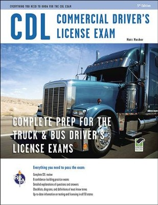 CDL - Commercial Drive License Exam, 5th Edition  -