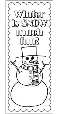 Winter Bookmark    -