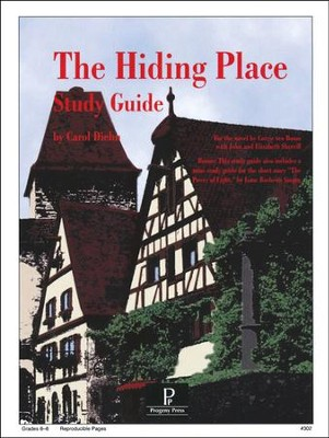 The Hiding Place Progeny Press Study Guide   -