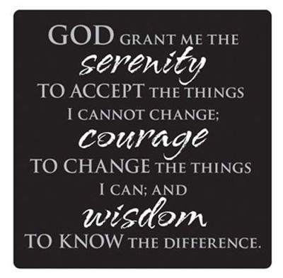 Serenity Prayer Magnet  -