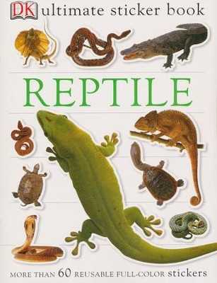 Ultimate Sticker Book: Reptile  -