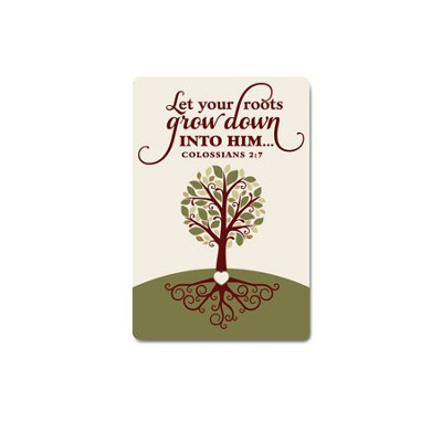Magnet - Tree - Let Your Roots Grow  -