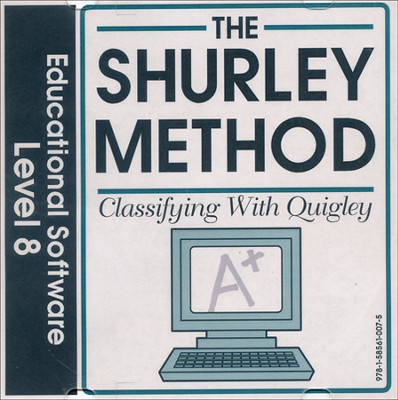 Shurley English Level 8 Educational Software Classifying with Quigley CD-Rom  -