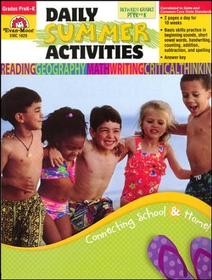 Daily Summer Activities, Moving from Preschool to  Kindergarten  -     Edited By: Marilyn Evans     By: Jill Norris     Illustrated By: Jo Larsen