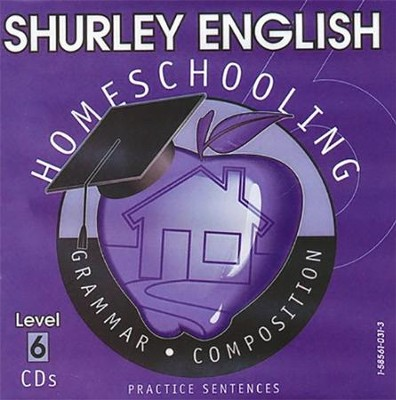 Shurley English Level 6 Practice CDs  -