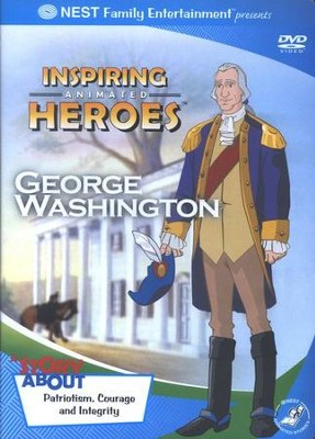 Inspiring Animated Heroes: George Washington, DVD   -