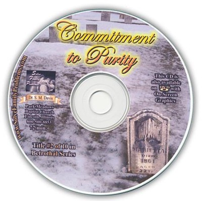 Commitment to Purity Audio CD  -     By: Dr. S.M. Davis