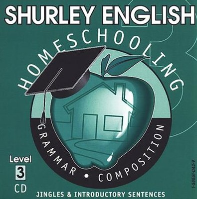 Shurley English Level 3 Instructional CD  -