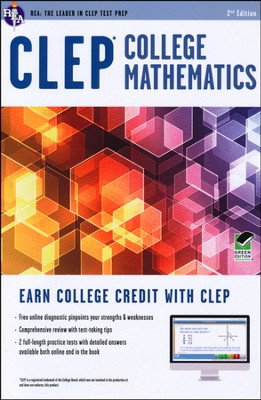 CLEP College Math (Green)  -     By: Mel Freidman