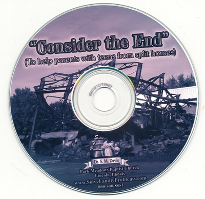 Consider The End Audio CD  -     By: Dr. S.M. Davis