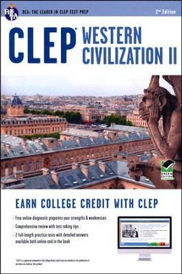 CLEP Western Civilization II with Access Code (Green)  -     By: Preston Jones