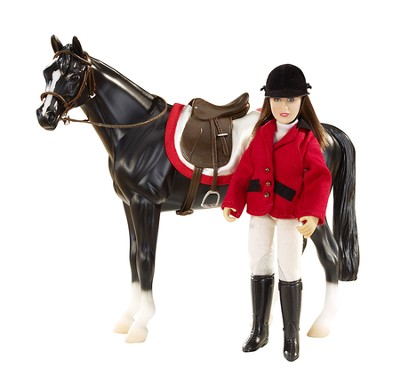 Chelsea Show Jumper Set, Doll with Saddle Accessories  -